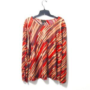 Ashley Stewart Multicolored Blouse